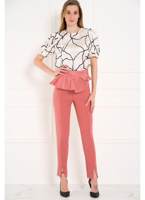 Women's trousers Glamorous by Glam - Pink