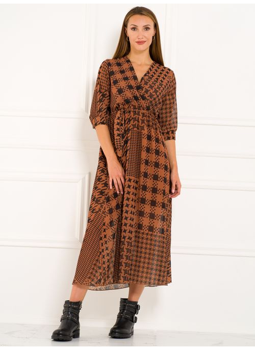 Maxi dress Glamorous by Glam - Brown
