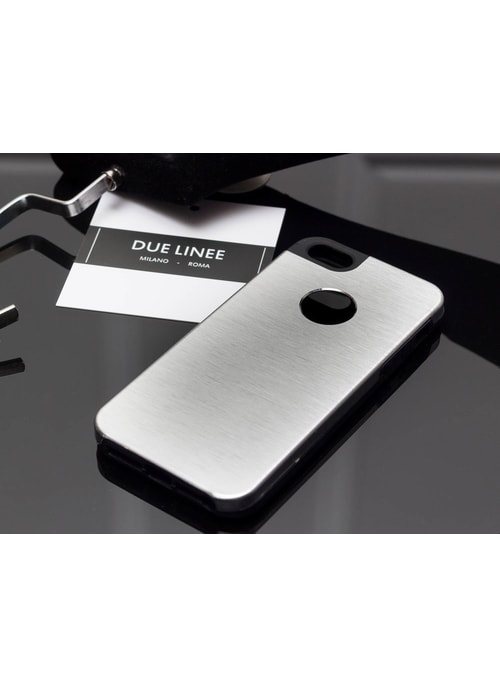 Case for iPhone 6/6S Due Linee - Silver
