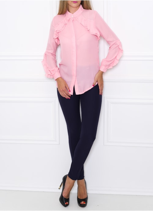 Women's top Due Linee - Pink