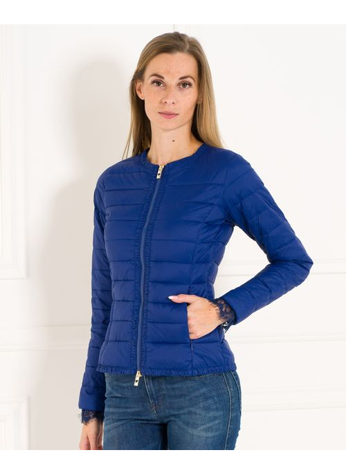Women's winter jacket TWINSET - Dark blue