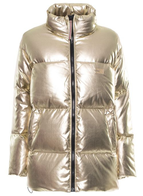 Women's winter jacket Tommy Hilfiger - Gold