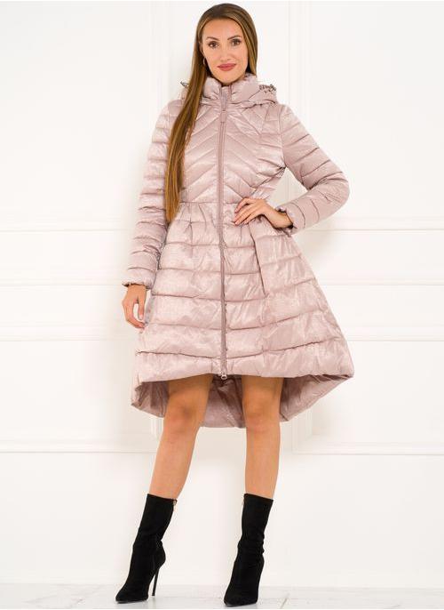 Winter jacket Due Linee - Pink