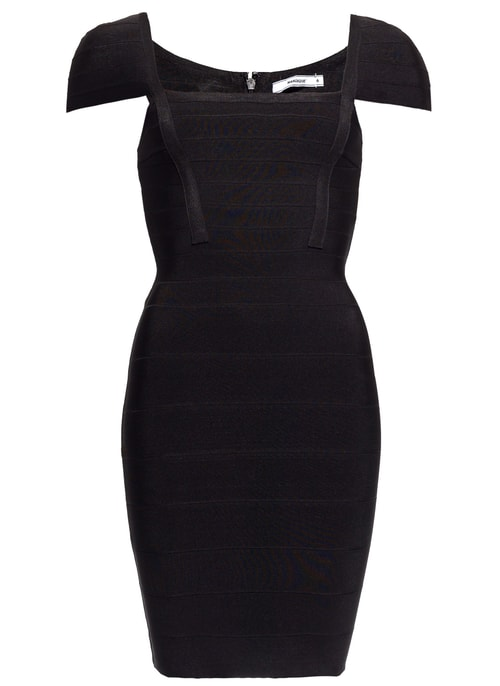 Bandage dress GLAM&GLAMADISE - Black