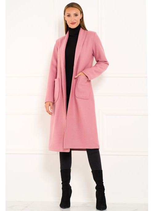 Women's coat Glamorous by Glam - Pink