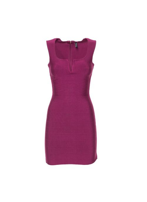 Bandage dress Guess by Marciano - Pink