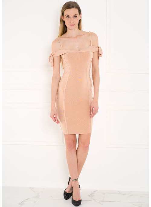 Bandage dress Guess - Beige
