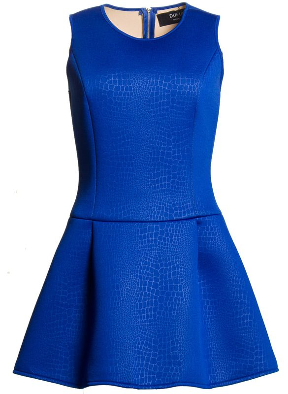 Prom dress Due Linee - Blue