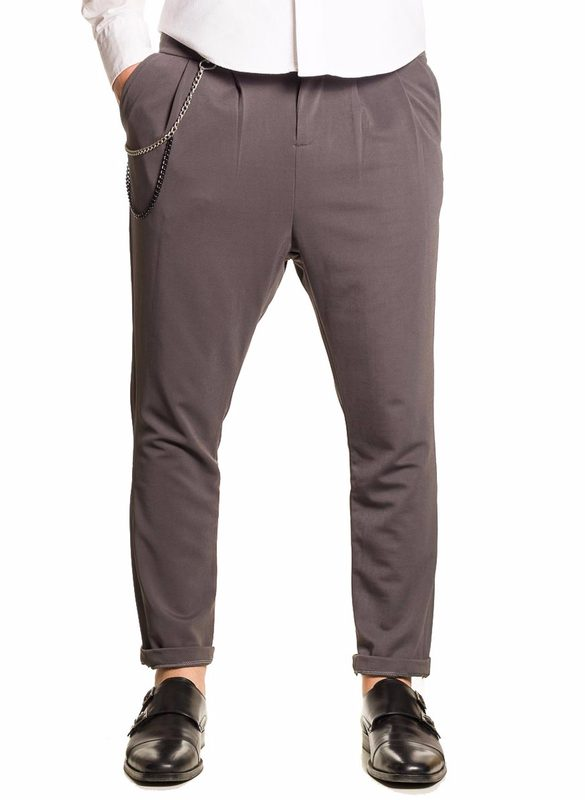 Men's trousers  - Grey