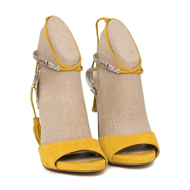 High heels Guess - Yellow