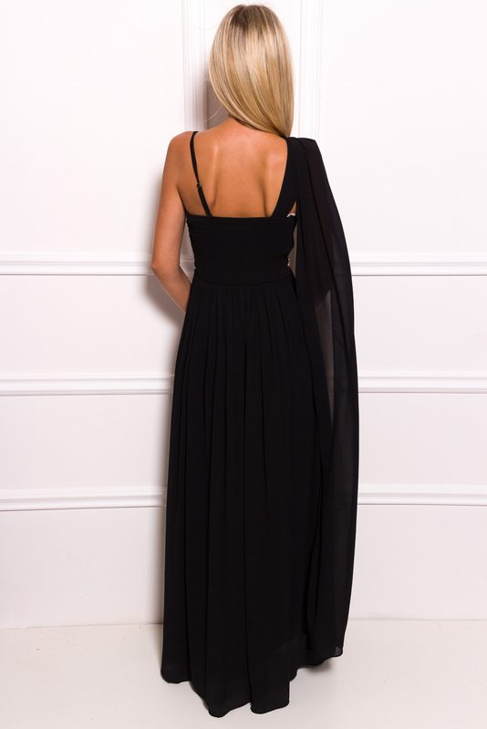 Maxi dress Due Linee - Black