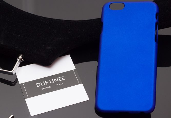 Case for iPhone 6/6S Due Linee - Blue