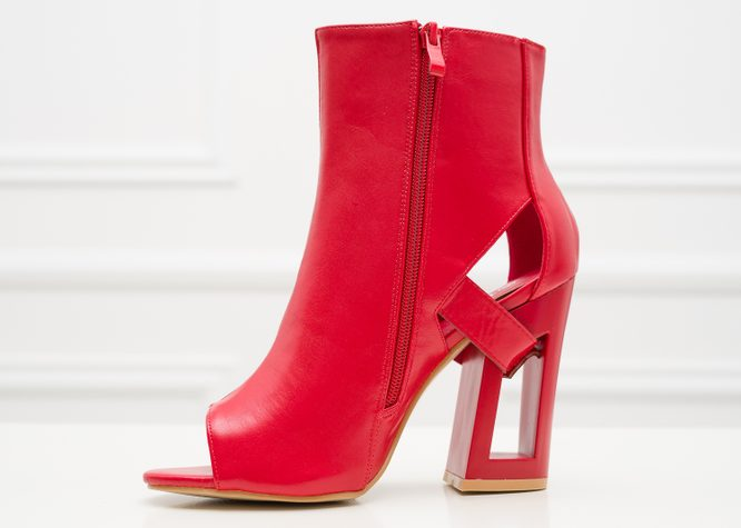 Women's boots GLAM&GLAMADISE - Red