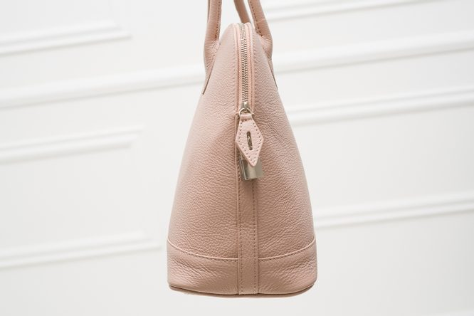 Real leather handbag Glamorous by GLAM - Pink