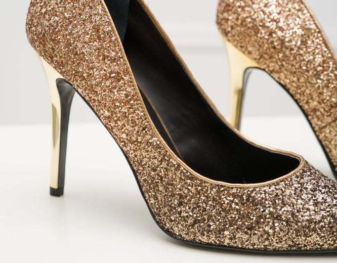 High heels Guess - Gold