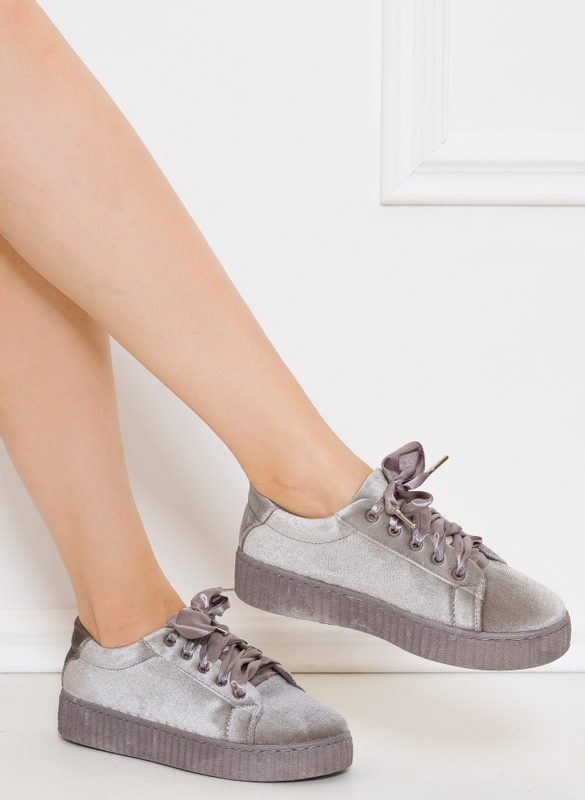 Women's sneakers GLAM&GLAMADISE - Grey