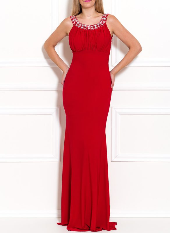 Maxi dress Due Linee - Red