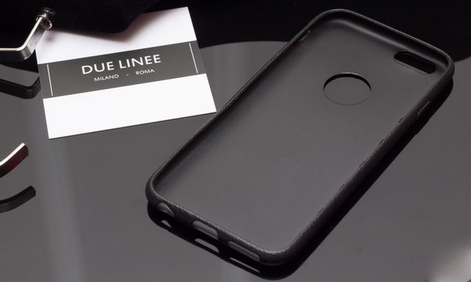 Case for iPhone 6/6S Due Linee - Black
