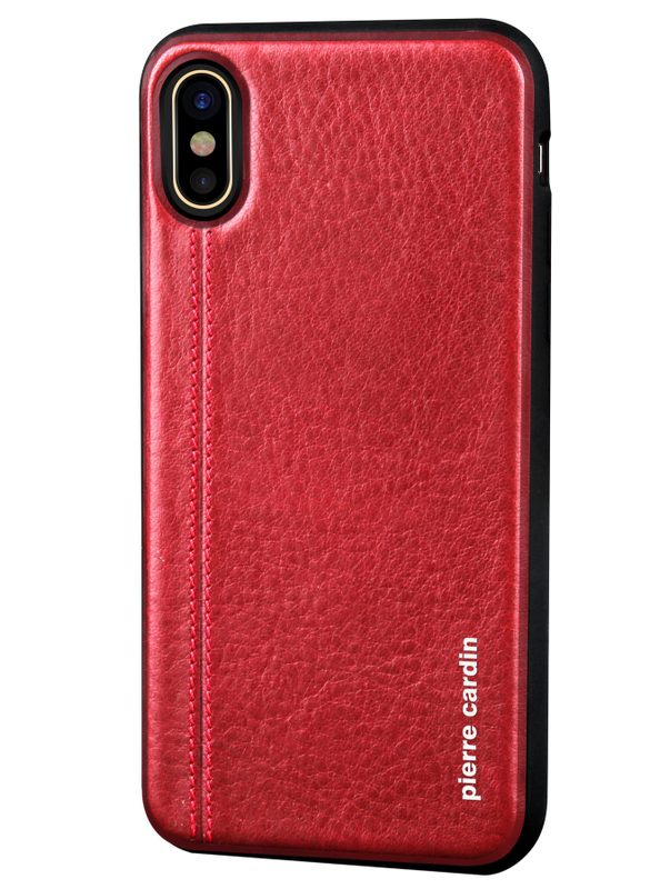 Case for iPhone X Pierre Cardin - Red