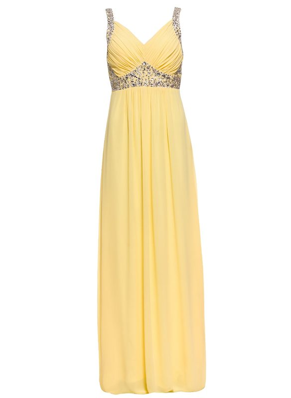 Maxi dress Due Linee - Yellow
