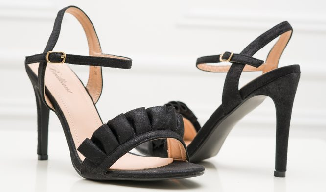 Women's sandals GLAM&GLAMADISE - Black