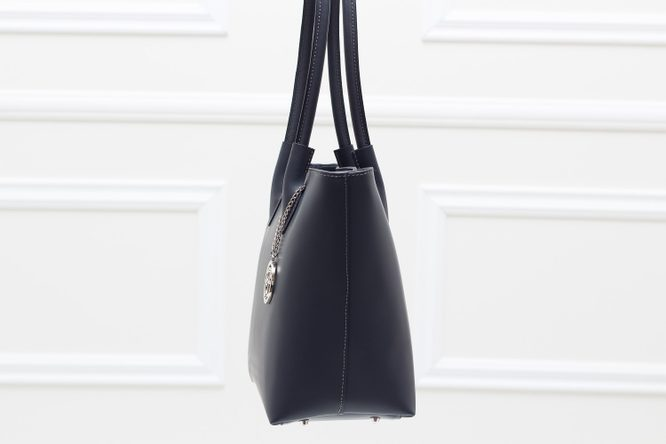 Real leather shoulder bag Glamorous by GLAM - Grey