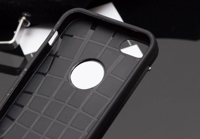 Case for iPhone 5/5S/SE Due Linee - Black