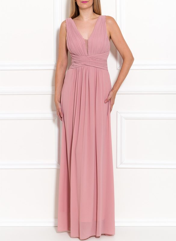 Maxi dress Due Linee - Pink