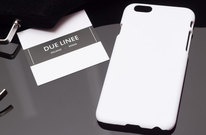 Case for iPhone 6/6S Due Linee - White