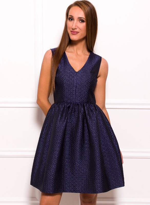 Prom dress Due Linee - Dark blue