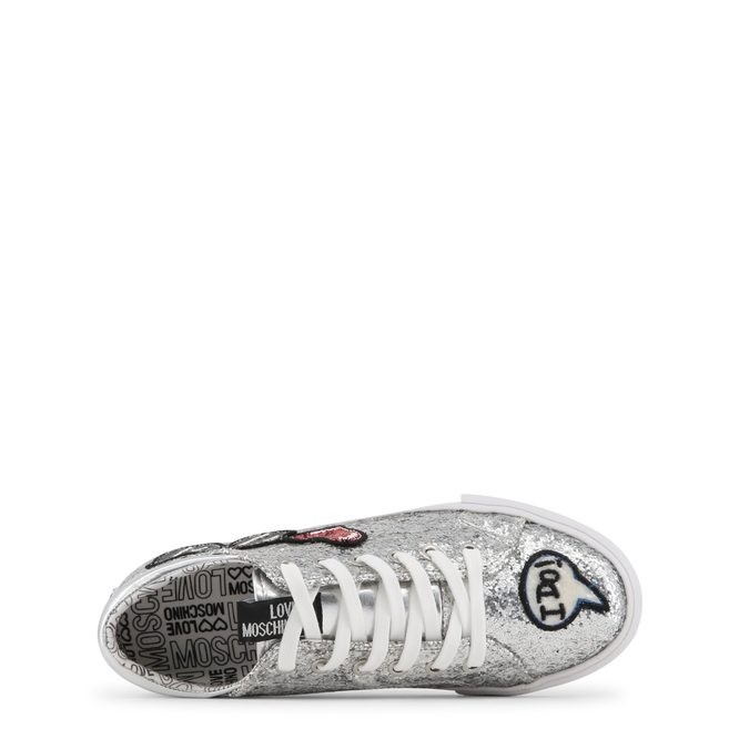 Women's sneakers Love Moschino - Silver