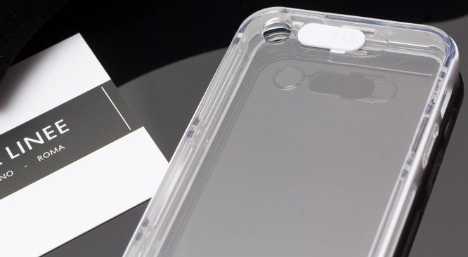 Case for iPhone 5/5S/SE Due Linee - White