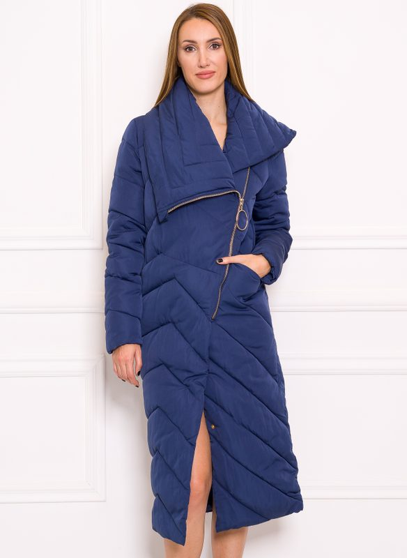 Women's winter jacket Due Linee - Blue
