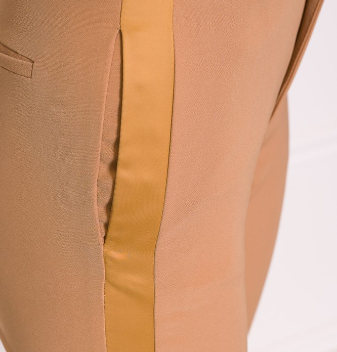 Women's trousers Due Linee - Beige