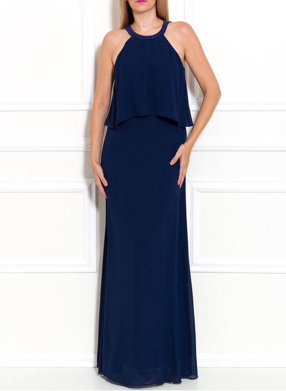 Maxi dress Due Linee - Dark blue