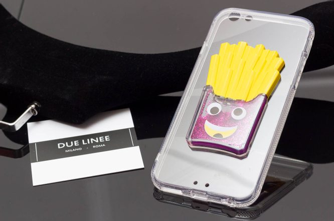 Case for iPhone 6/6S Due Linee - Pink