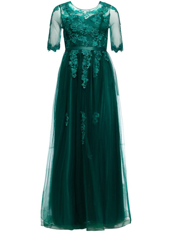 Maxi dress Due Linee - Green