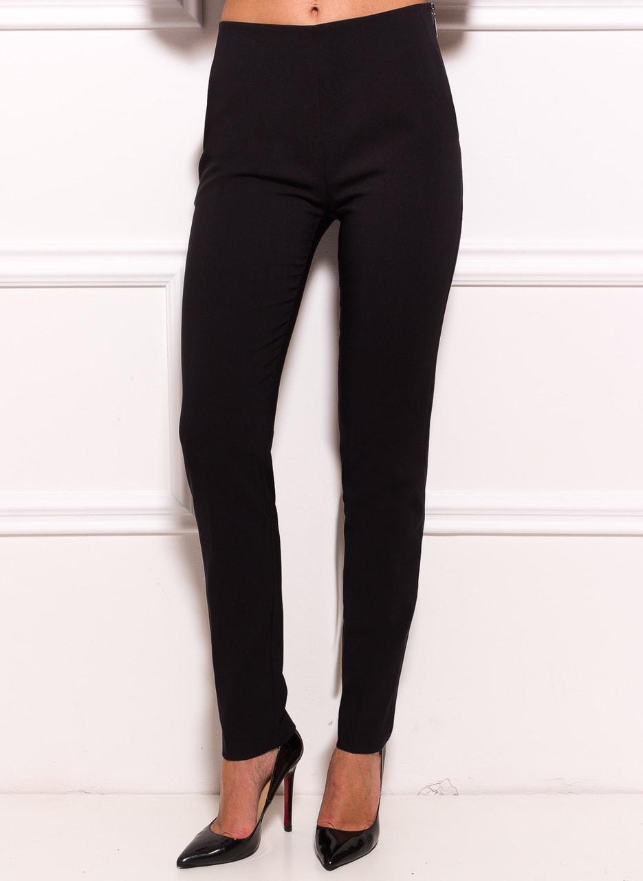 d8c7b9f16 Dámské společenské kalhoty se zipem na boku - černá - Glamorous by ...