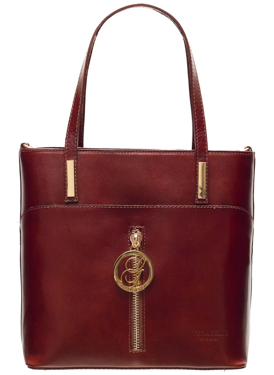 ca2e415e93 Glamadise.sk - Dámska kožená kabelka malá so zipsom dlhší pútka ...