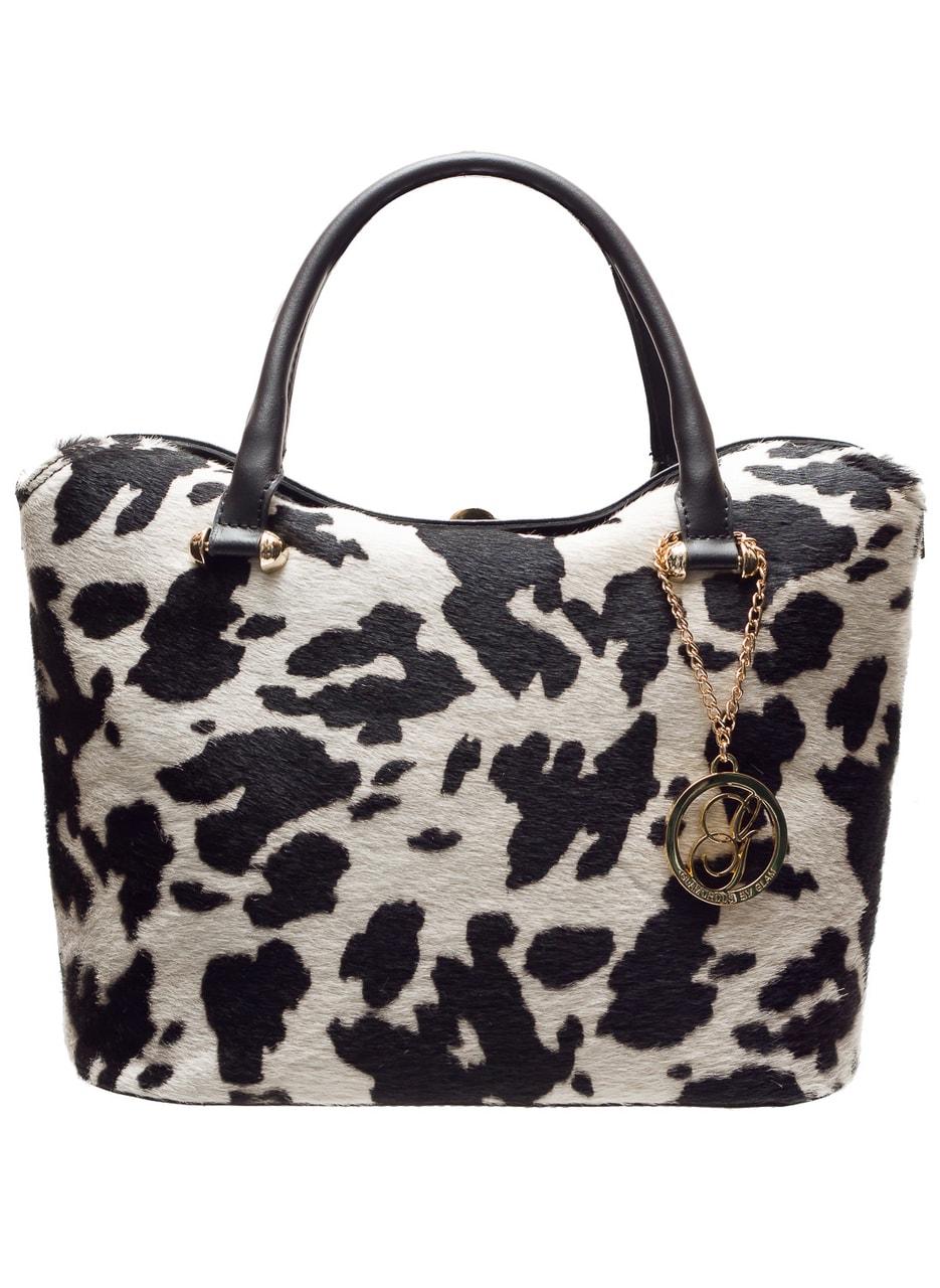 83c82a27ad2fc Glamadise.sk - Dámska luxusná kabelka so srsťou malá do ruky čierno ...