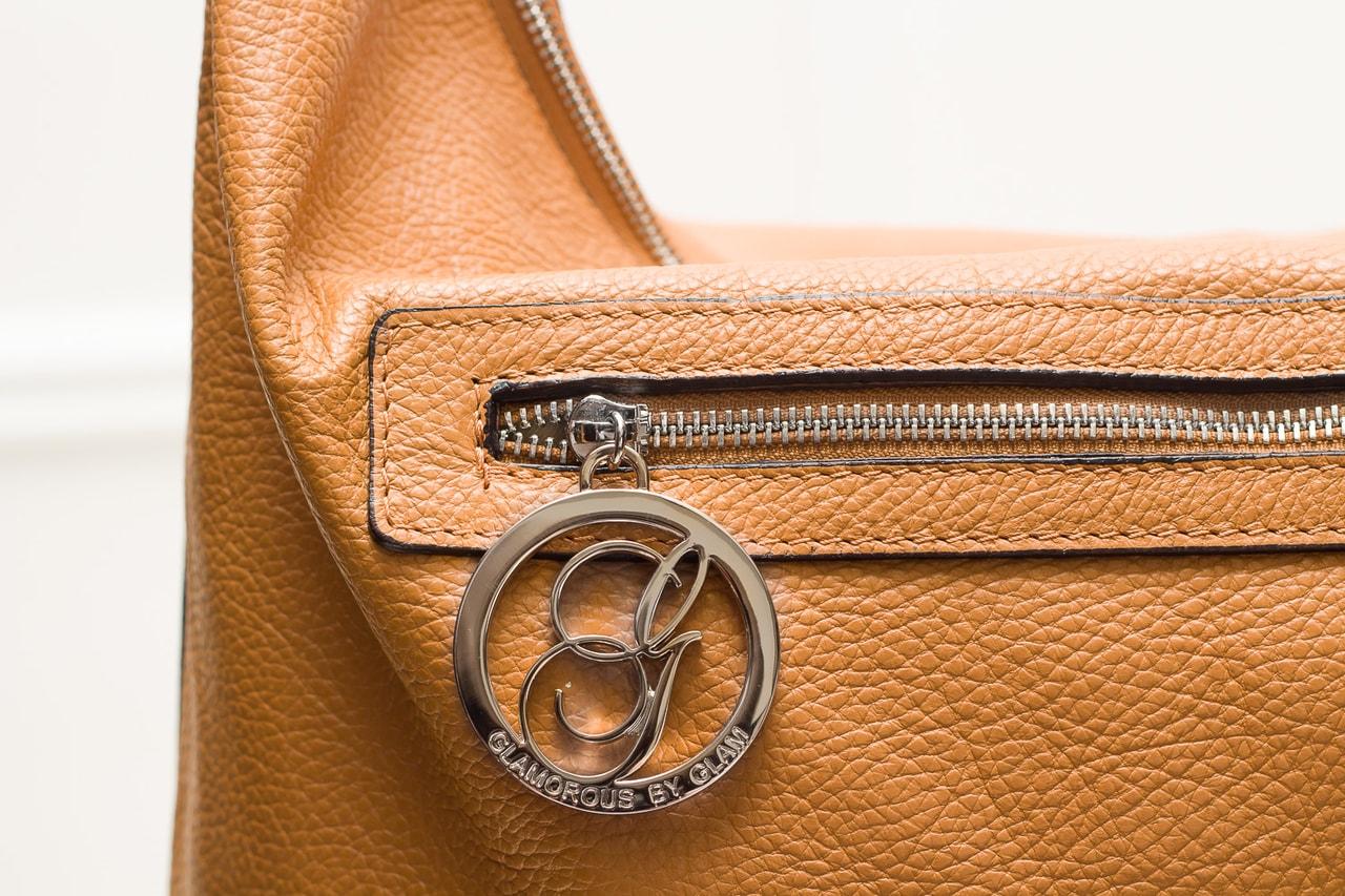 4f86773172 Glamadise.sk - Dámska kožená kabelka dlhé ucho - COYOTE - Glamorous ...