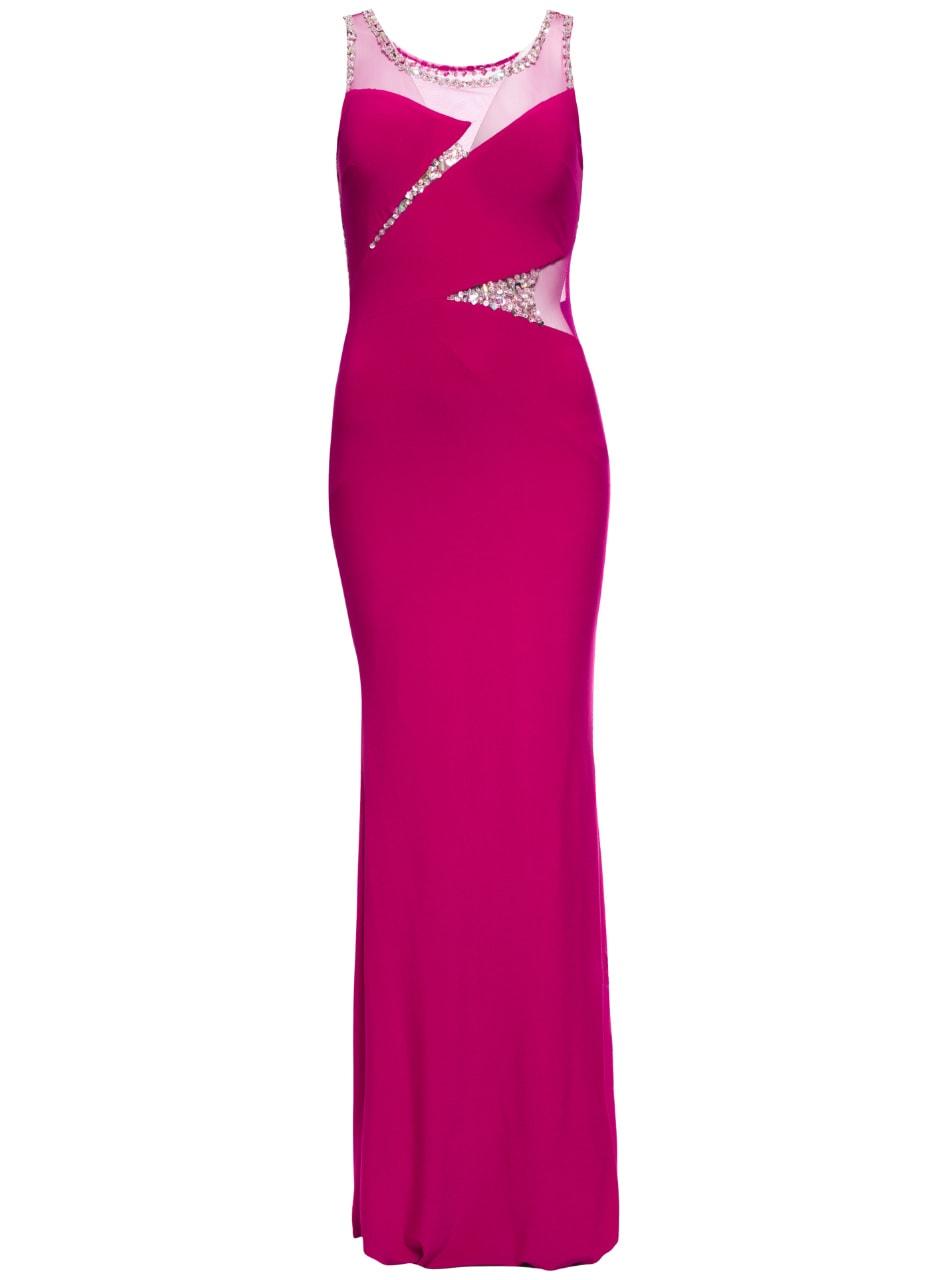 fa6b3368ea Glamadise.hu Fashion paradise - Női hosszú ruha Due Linee - Lila ...