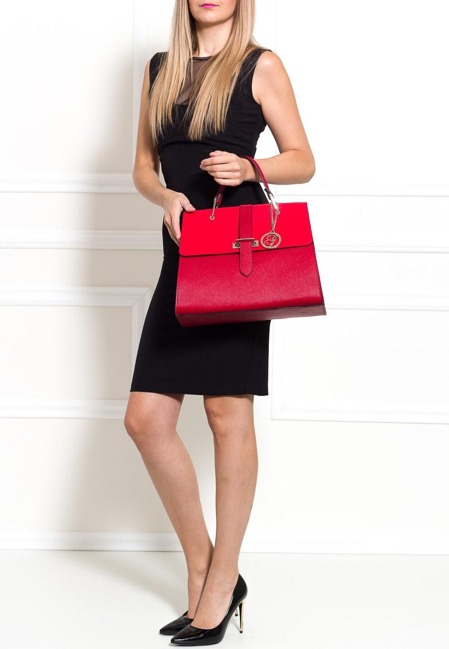b9c590d1aa Glamadise.sk - Dámske luxusné kabelka do ruky strieborné zapínanie ...