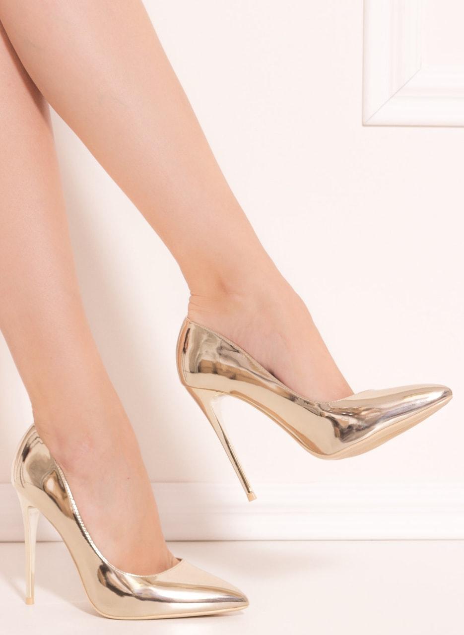 65882d31bf008 Glamadise.sk - Dámske luxusné lodičky - zlatá - GLAM&GLAMADISE shoes ...