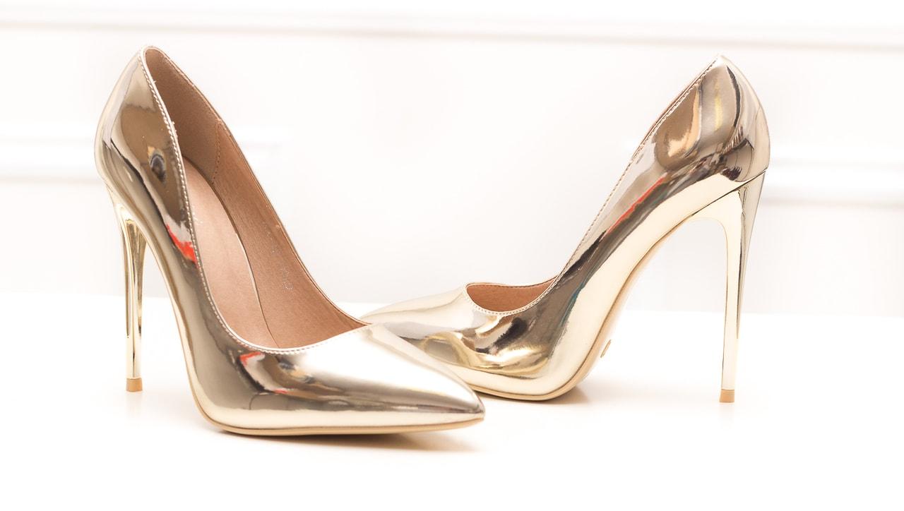 f183d7b58c2d Glamadise.sk - Dámske luxusné lodičky - zlatá - GLAM GLAMADISE shoes ...