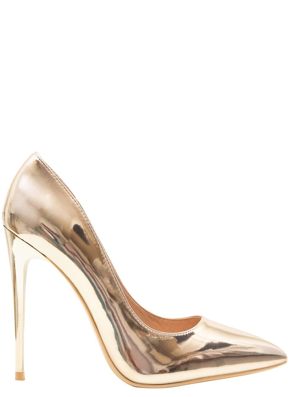 902ceb1704 Glamadise.sk - Dámske luxusné lodičky - zlatá - GLAM GLAMADISE shoes ...