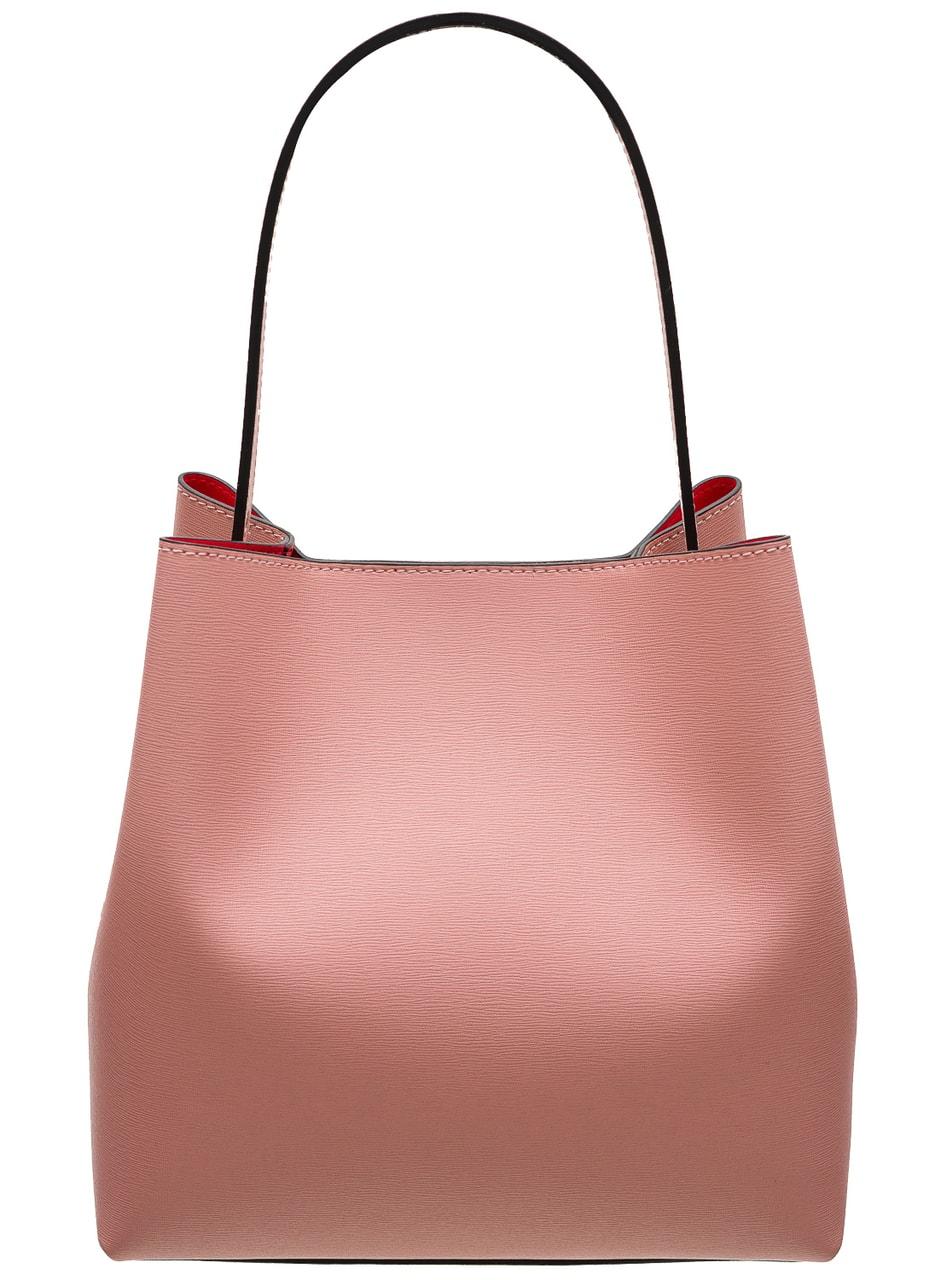 933f871935413 Kožená kabelka MARIA - růžová - Glamorous by GLAM - Přes rameno ...