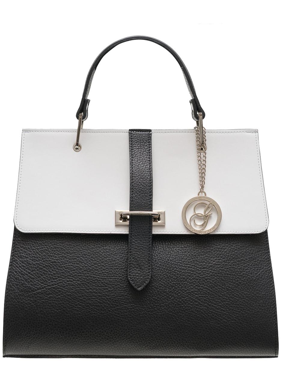 c17630837eaba Glamadise.sk - Dámske luxusné kabelka do ruky strieborné zapínanie ...
