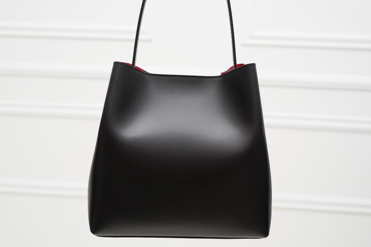 876f6e28a5 Glamadise.sk - Kožená kabelka MARIA matná - čierna - Glamorous by ...