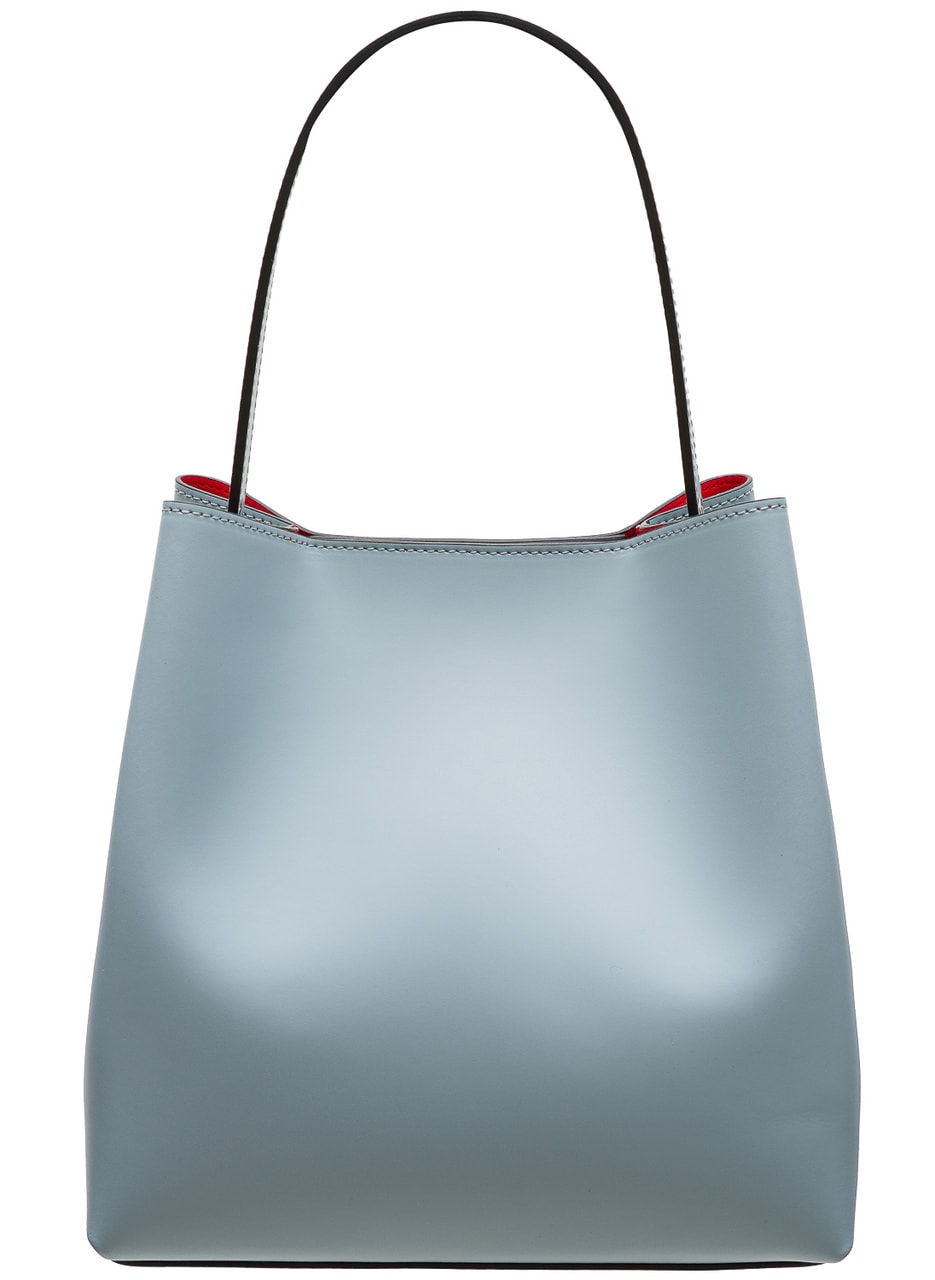 eba1890b4a Glamadise.sk - Kožená kabelka MARIA matná - svetlo modrá - Glamorous ...